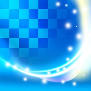 青のフレームの写真素材 [FYI00277171]