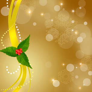 クリスマス飾りの写真素材 [FYI00277205]