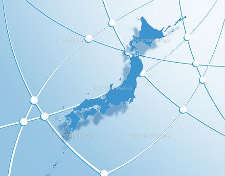 日本ネットワークの写真素材 [FYI00277236]