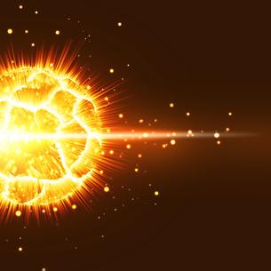 新星爆発の写真素材 [FYI00277269]