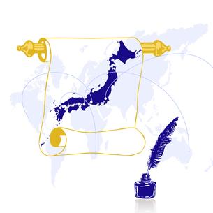 日本地図の写真素材 [FYI00277273]