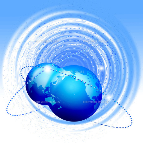 グローバルネットワークの写真素材 [FYI00277319]