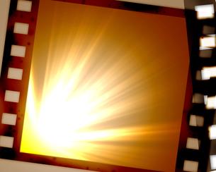 フィルムと光の写真素材 [FYI00277325]