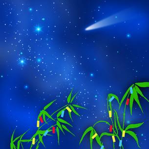 銀河と七夕の写真素材 [FYI00277356]