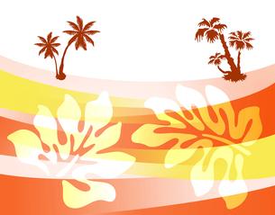 ハワイ模様の写真素材 [FYI00277504]