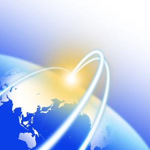 グローバルネットワークの写真素材 [FYI00277526]
