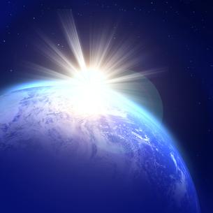 地球の写真素材 [FYI00277534]