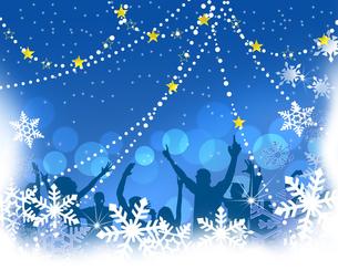 クリスマスパーティーの写真素材 [FYI00277574]