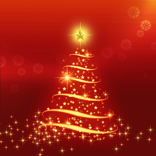 クリスマスツリーの写真素材 [FYI00277584]