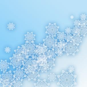 雪の結晶の写真素材 [FYI00277588]
