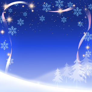 クリスマス背景の写真素材 [FYI00277592]