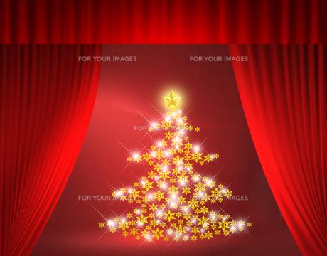 クリスマスツリーの写真素材 [FYI00277599]