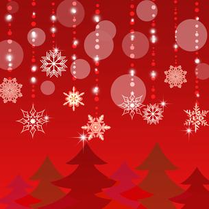 クリスマス背景の写真素材 [FYI00277604]