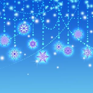 雪の結晶の写真素材 [FYI00277607]