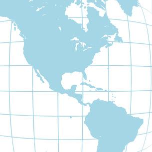 南北アメリカ地図の写真素材 [FYI00277619]