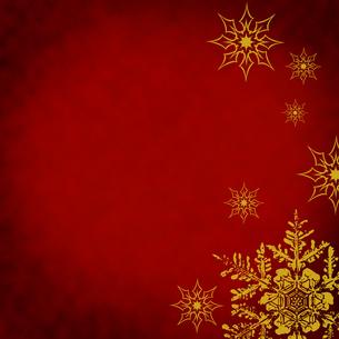クリスマス雪の結晶の写真素材 [FYI00277620]