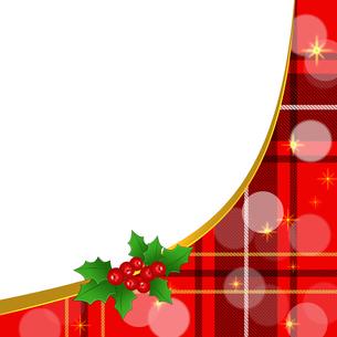 クリスマスフレームの写真素材 [FYI00277624]