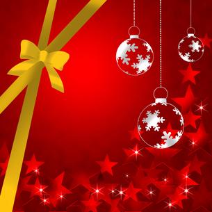 クリスマス背景の写真素材 [FYI00277625]