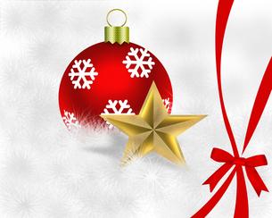 クリスマス背景の写真素材 [FYI00277635]
