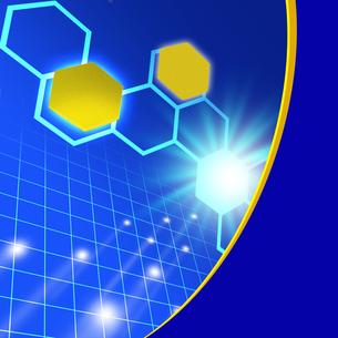 化学フレームの写真素材 [FYI00277668]