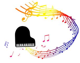 ピアノを弾くの写真素材 [FYI00277693]