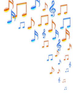 音楽の譜面の写真素材 [FYI00277724]