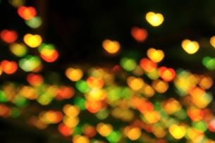 ハート型の光の写真素材 [FYI00277811]