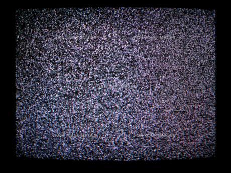 砂の嵐 TV画面の素材 [FYI00277924]