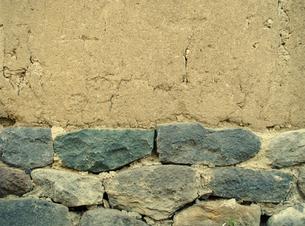 石垣と土壁の素材 [FYI00278068]