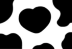 ハートの牛柄の素材 [FYI00278085]