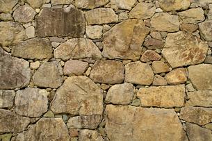 石垣のテクスチャの写真素材 [FYI00278200]