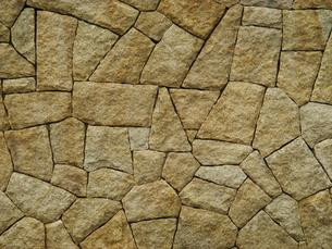 石垣のテクスチャの写真素材 [FYI00278334]