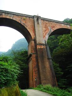 廃線の橋梁の写真素材 [FYI00278479]