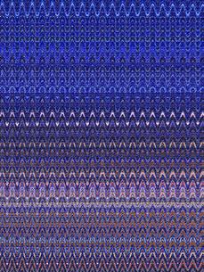 織物風ウェーブストライプ柄の写真素材 [FYI00278482]