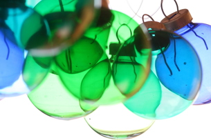 ガラスのオーナメントの写真素材 [FYI00278534]