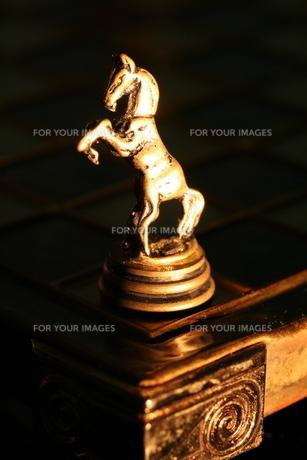 チェスのコマの写真素材 [FYI00278591]