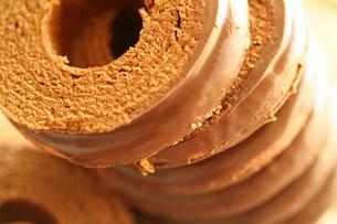 チョコレートバームクーヘンの素材 [FYI00278597]