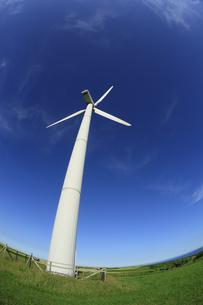 風力発電用風車の写真素材 [FYI00278995]
