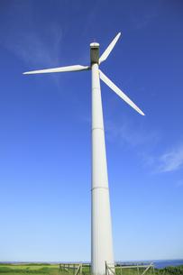 風力発電用風車の写真素材 [FYI00279009]