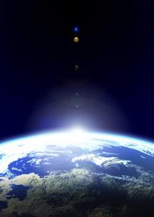 輝く地球の素材 [FYI00279271]