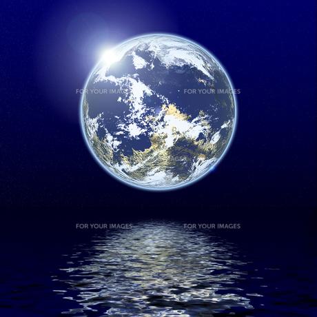 地球のイメージの素材 [FYI00279279]