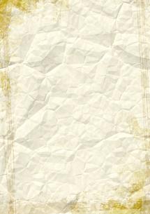 しわしわの紙の素材 [FYI00279286]