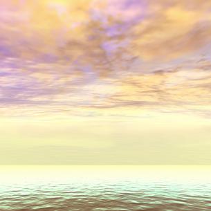 朝焼けの空の素材 [FYI00279293]