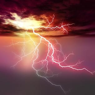 雷の素材 [FYI00279323]