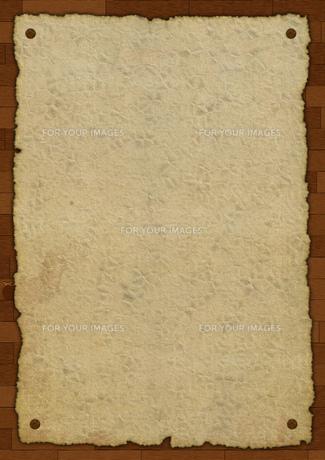 古びた貼り紙のイメージの素材 [FYI00279335]