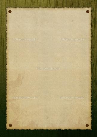 古びた貼り紙のイメージの素材 [FYI00279365]