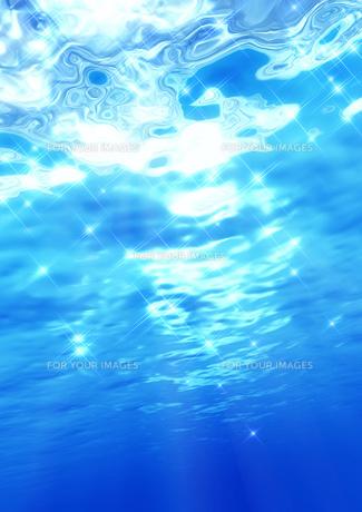 水中イメージの素材 [FYI00279378]
