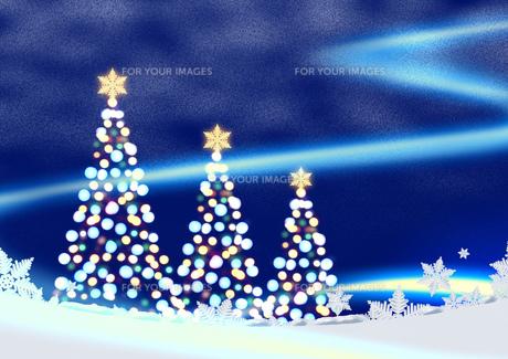 クリスマスのイメージの素材 [FYI00279402]