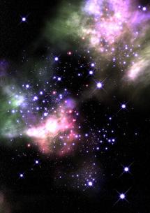 宇宙空間 星雲の素材 [FYI00279434]