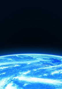 宇宙空間 地球の素材 [FYI00279443]